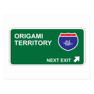 Salida siguiente de Origami Postal