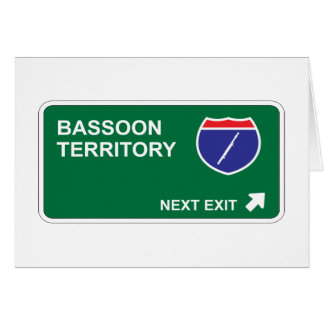 Salida siguiente del Bassoon Tarjeton