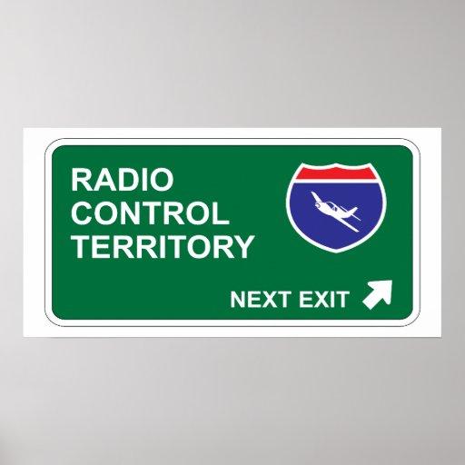 Salida siguiente del control de radio impresiones