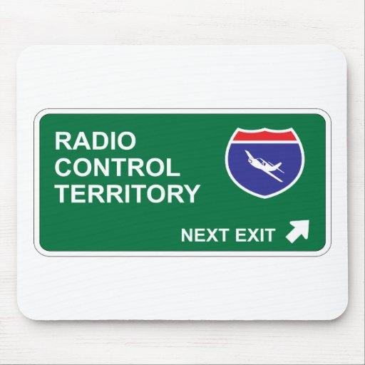 Salida siguiente del control de radio alfombrilla de ratón