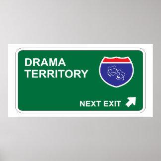 Salida siguiente del drama poster