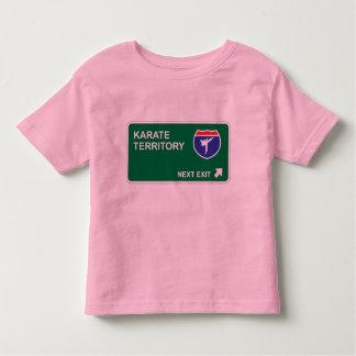 Salida siguiente del karate camiseta
