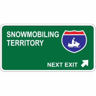 Salida siguiente Snowmobiling Esculturas Fotográficas
