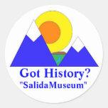 """""""SalidaMuseum"""" Stickers"""
