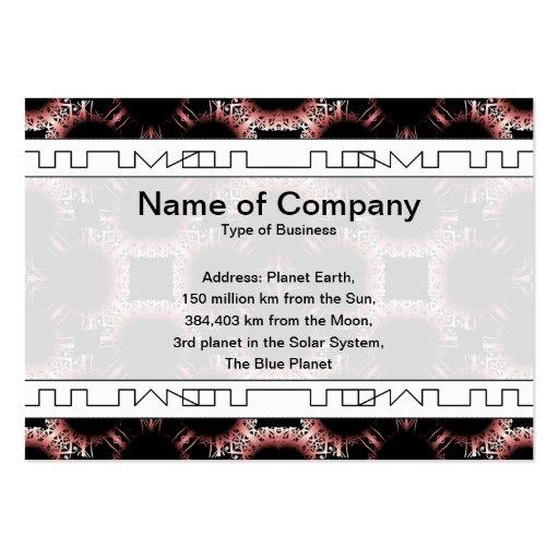 Salidas elegantes del corte de la flor de papel gr plantillas de tarjeta de negocio
