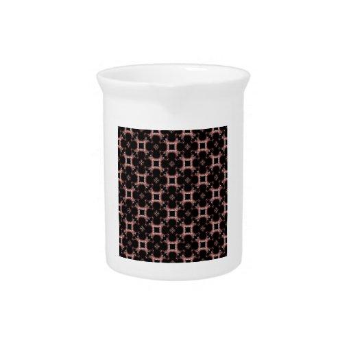 Salidas elegantes del corte de la flor de papel pe jarra para bebida
