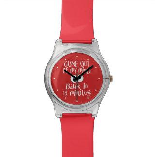 """""""Salido relojes del personalizado de mi mente"""""""