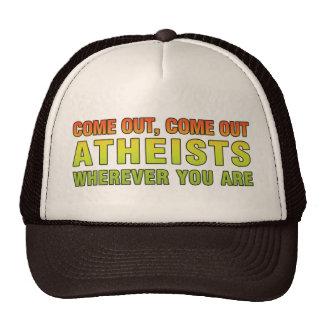 Salido salidos ateos dondequiera que usted sea gorras