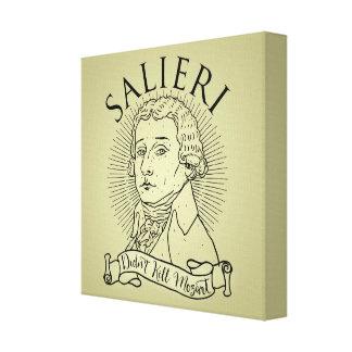 Salieri Didn't Kill Mozart Canvas Print
