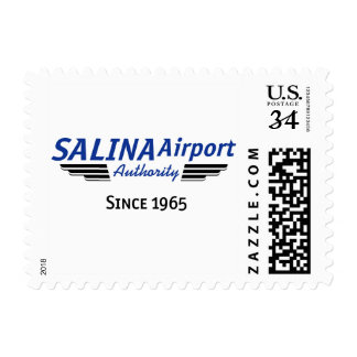 Salina Airport Authority- Since 1965 Postage Stamp
