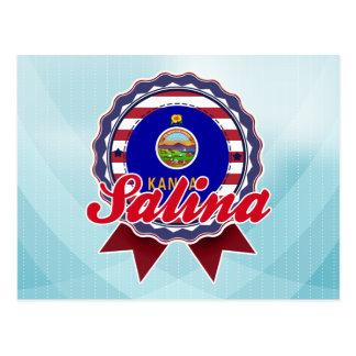 Salina, KS Postcard