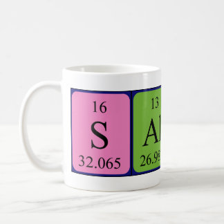 Salina periodic table name mug