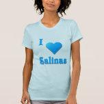 Salinas -- Azul de cielo Camisetas