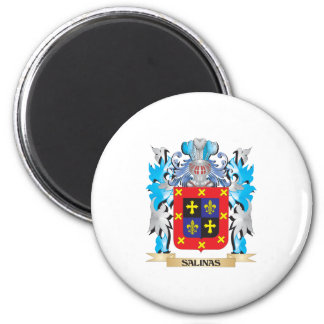 Salinas Coat of Arms - Family Crest Fridge Magnets