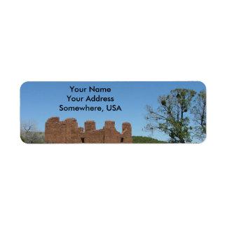 Salinas Pueblo Missions Address Labels