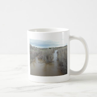 Salinas River North of Veterans Memorial Bridge Coffee Mug