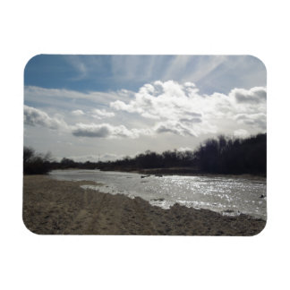 Salinas River, Paso Robles, January Magnet