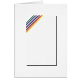 Salinger Stripe Card