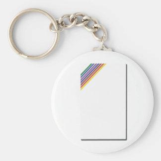 Salinger Stripe Keychain