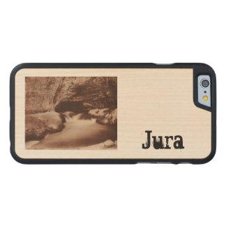 Salins les Bains Nans Jura Franche Comte France Carved Maple iPhone 6 Slim Case