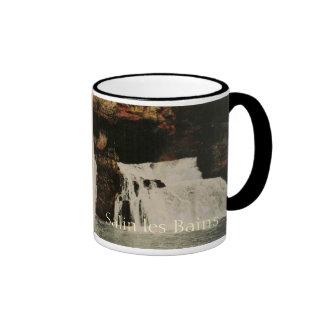 Salins les Bains Nans Jura Franche Comte France Ringer Coffee Mug