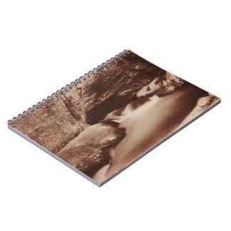 Salins les Bains Nans Jura Franche Comte France Spiral Notebook