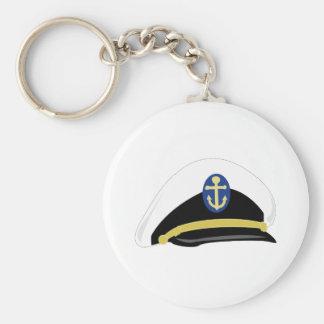 Salior Hat Basic Round Button Keychain