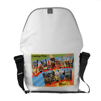 Salisbury Beach Massachusetts MA Travel Souvenir Messenger Bag