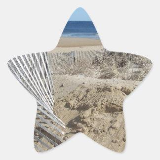 Salisbury Beach       Salisbury Massachusetts Star Sticker