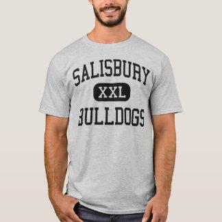 Salisbury - Bulldogs - High - Red Bluff California T-Shirt