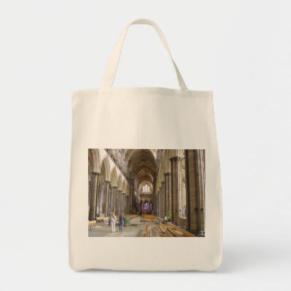 Salisbury Cathedral Grocery Tote Bag