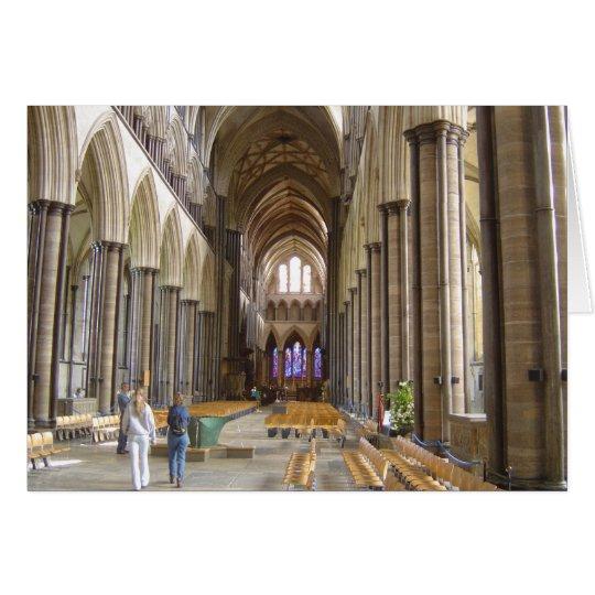 Salisbury Cathedral Card