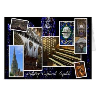 Salisbury Cathedral Christmas greetings