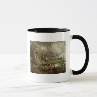 Salisbury Cathedral From the Meadows, 1831 Mug