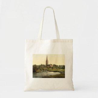 Salisbury Cathedral I, Wiltshire, England Budget Tote Bag