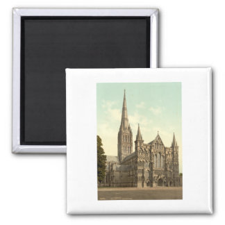 Salisbury Cathedral II, Wiltshire, England Refrigerator Magnets