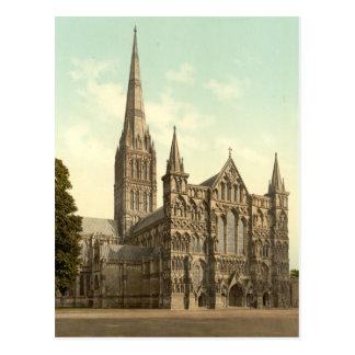 Salisbury Cathedral II, Wiltshire, England Postcard