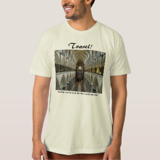 Salisbury Cathedral Nave T-Shirt