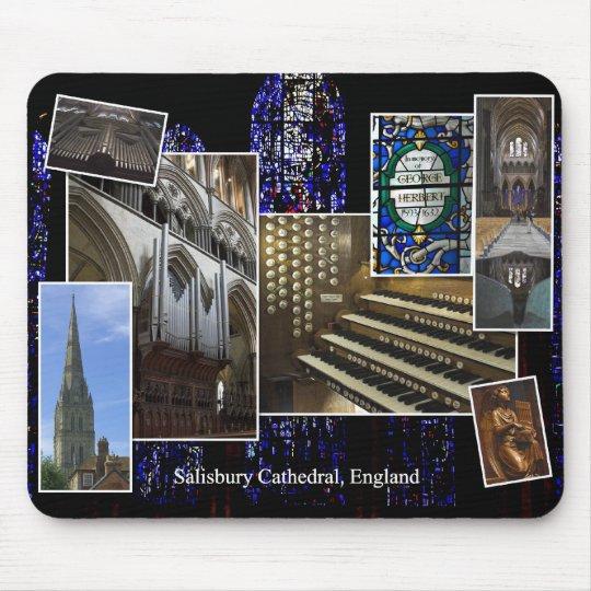 Salisbury Cathedral pipe organ mousepad