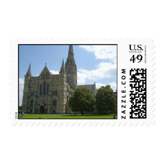 Salisbury Cathedral Postage Stamps