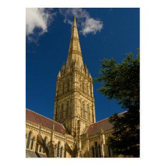 Salisbury Cathedral Postcard