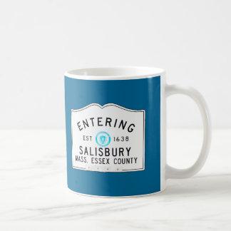 Salisbury que entra taza clásica