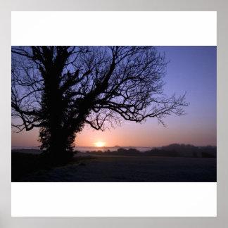 Salisbury Sunrise Print