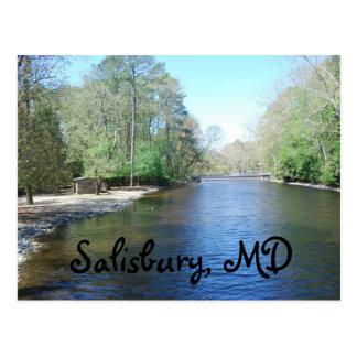 Salisbury Zoo, MD Postcard