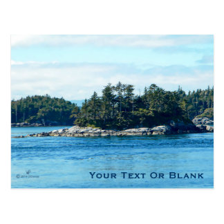 Salish Island Postcard