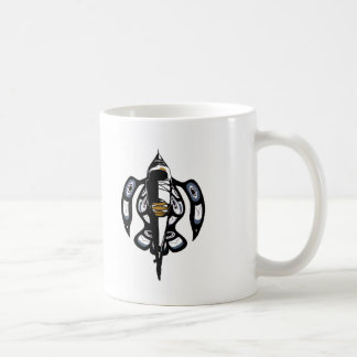Salish Kayak DH Classic White Coffee Mug