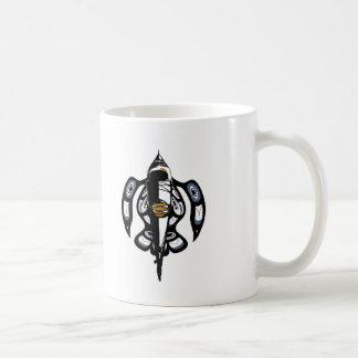Salish Kayak RH Classic White Coffee Mug