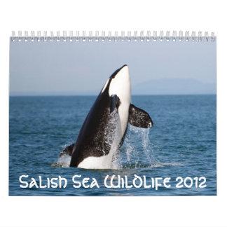 Salish Sea Wildlife 2012 Calendar