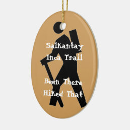 Salkantay Inca Trail Ceramic Ornament