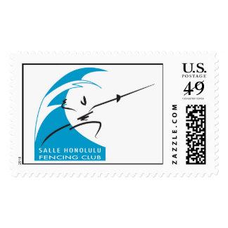 Salle Honolulu stamp, blank Stamp